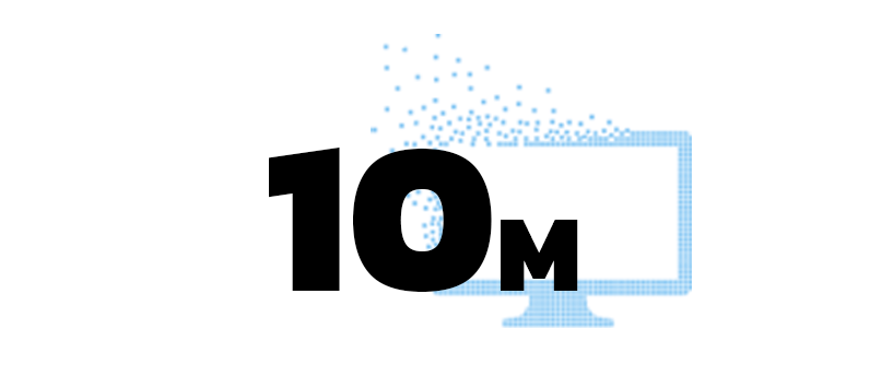 More than 10 million touchscreen installations